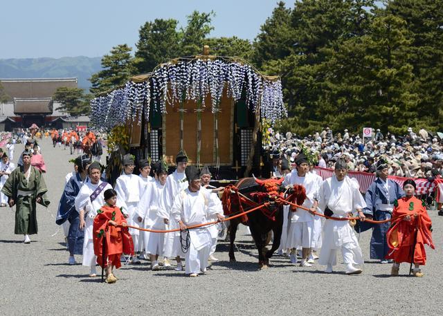 画像: 葵祭・牛車(イメージ)