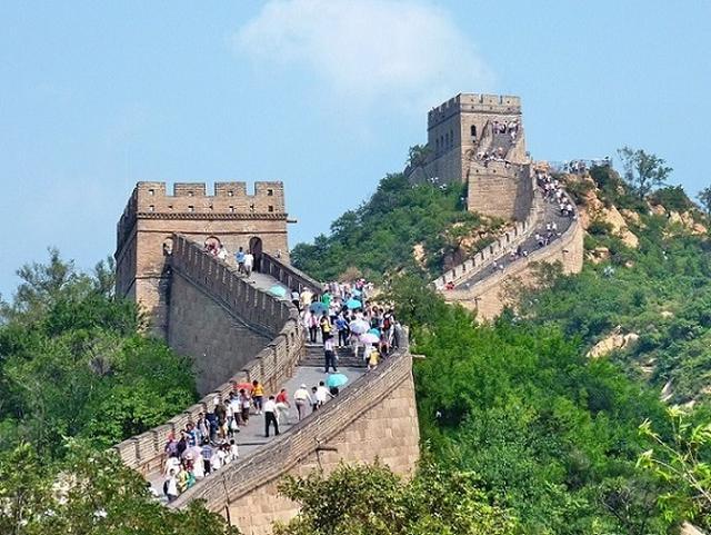 画像: 万里の長城(イメージ)