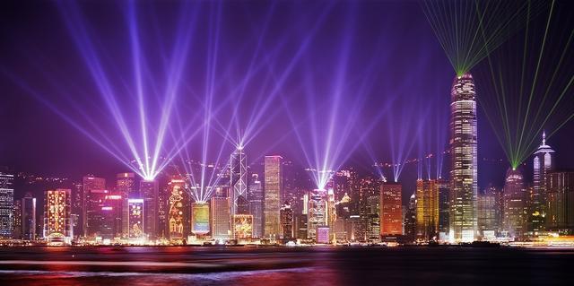 画像: 香港100万ドルの夜景(イメージ)