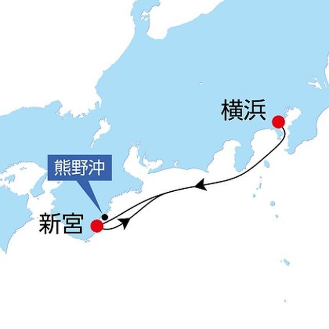 画像2: 航路図(イメージ/天候その他事情により変更となる場合がございます)