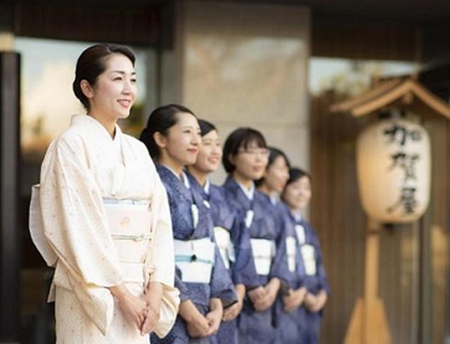 画像: 加賀屋のお出迎え(イメージ)
