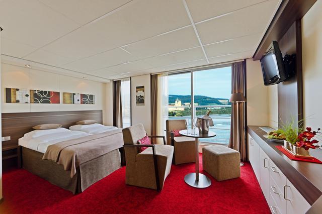 画像: スイート客室(イメージ) www.lueftner-cruises.com