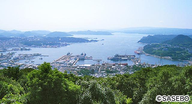 画像: 数百の島々が点在する九十九島にも近い佐世保港(イメージ)