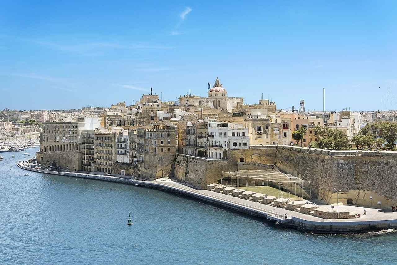 画像: 出入港シーンが美しいマルタ島のヴァレッタ(イメージ)