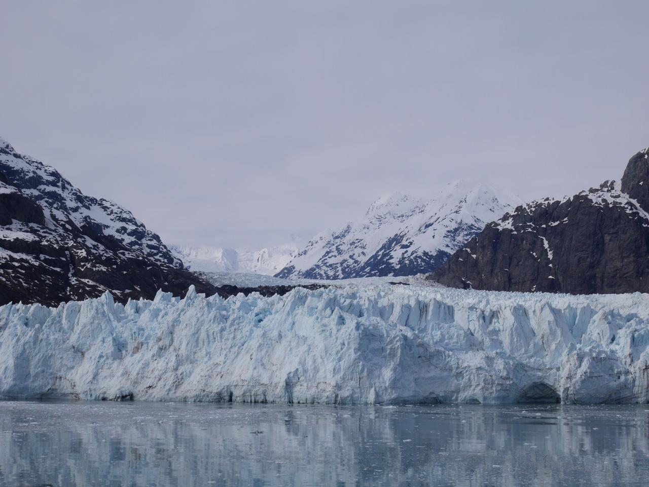 画像: 大迫力のマージェリー氷河(イメージ)