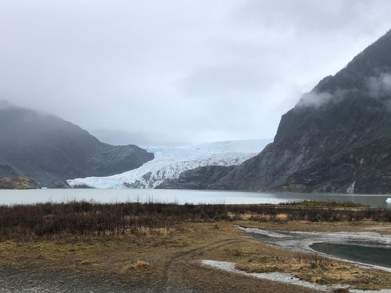 画像: メンデンホール氷河(イメージ)