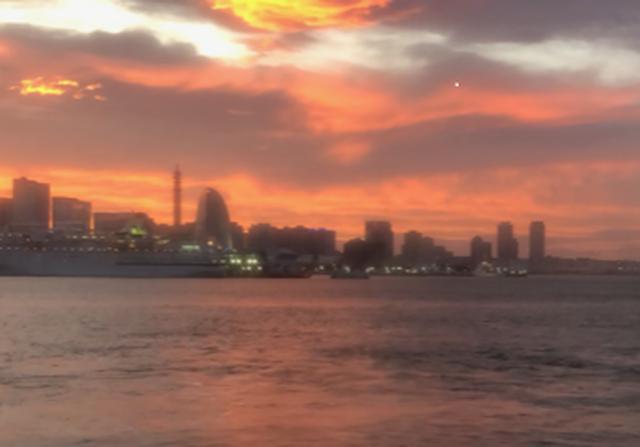 画像: 船内からの眺め/大脇撮影