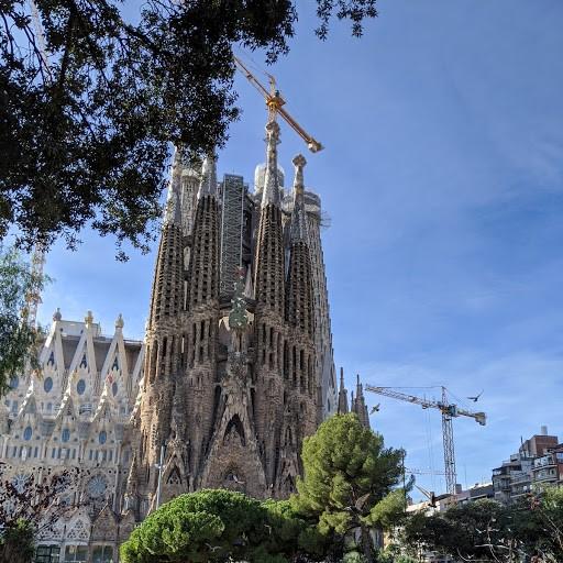 画像: バルセロナのサグラダファミリア