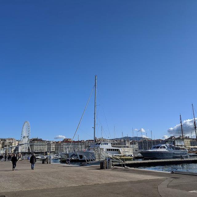 画像: マルセイユの旧港