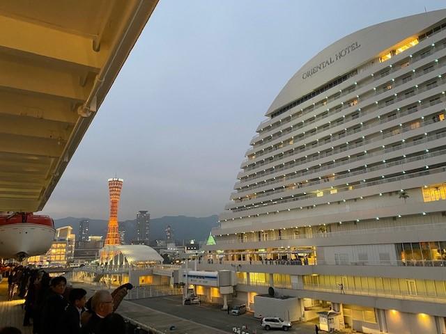 画像: 神戸出港/和田撮影
