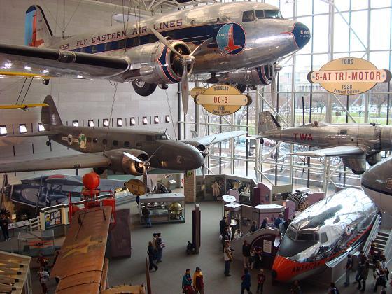 画像: スミソニアン航空宇宙博物館(イメージ)