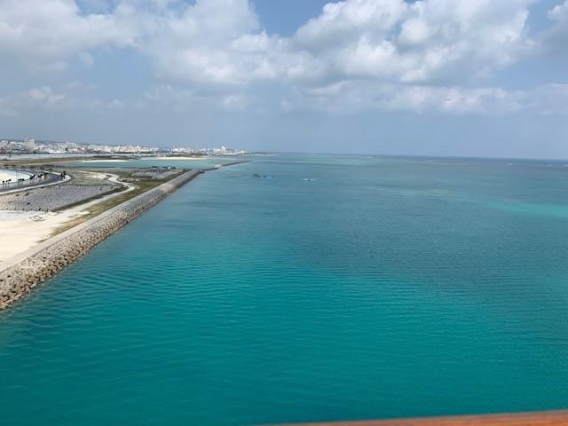 画像: 船から見た石垣の海(撮影 宮内)