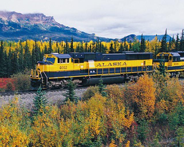 画像: アラスカ鉄道(イメージ)