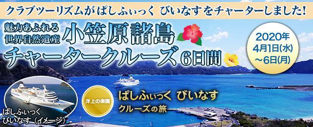 画像: ぱしふぃっくびいなす 小笠原チャータークルーズ旅行・ツアー│クラブツーリズム