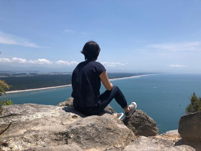 画像2: タウランガ・マウンガヌイ山からの眺め/鈴木撮影(イメージ)