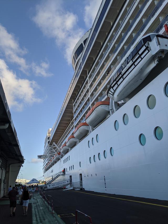 画像: 約14万トンのMSCプレチオーサに乗船!いよいよ南カリブ海クルーズのはじまりです/齋藤撮影