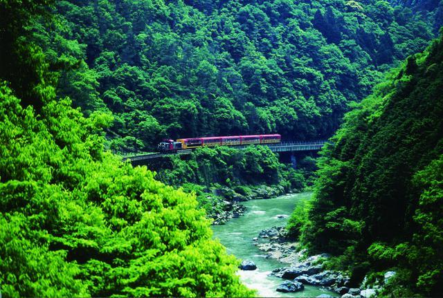 画像: 嵯峨野トロッコ列車(イメージ)