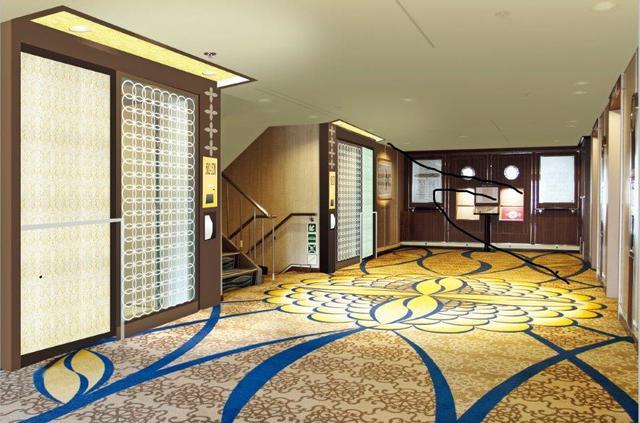 画像: 5階客室エリア入り口付近/イメージ