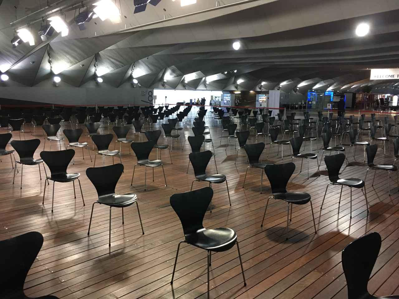 画像3: 横浜港大さん橋国際客船ターミナル(筆者撮影)