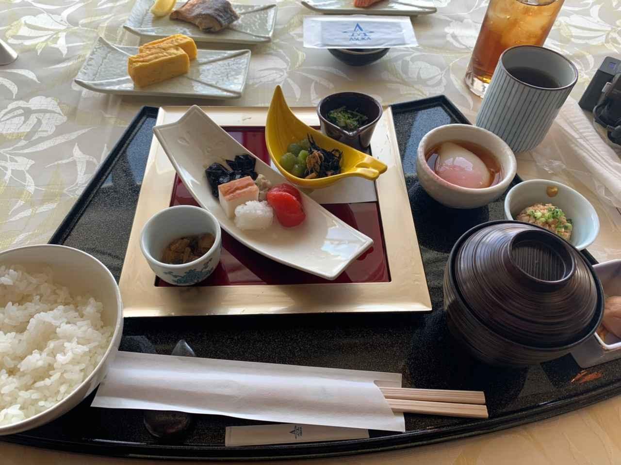 画像: 朝食 和食(スタッフ撮影)