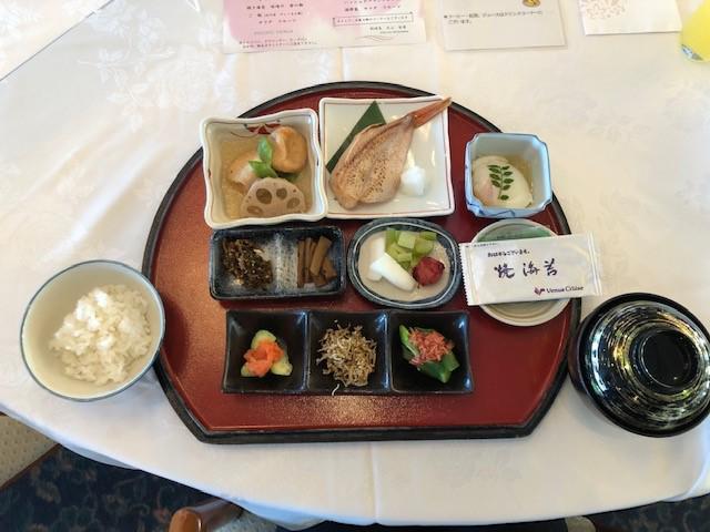 画像: 朝食・和食(筆者撮影)