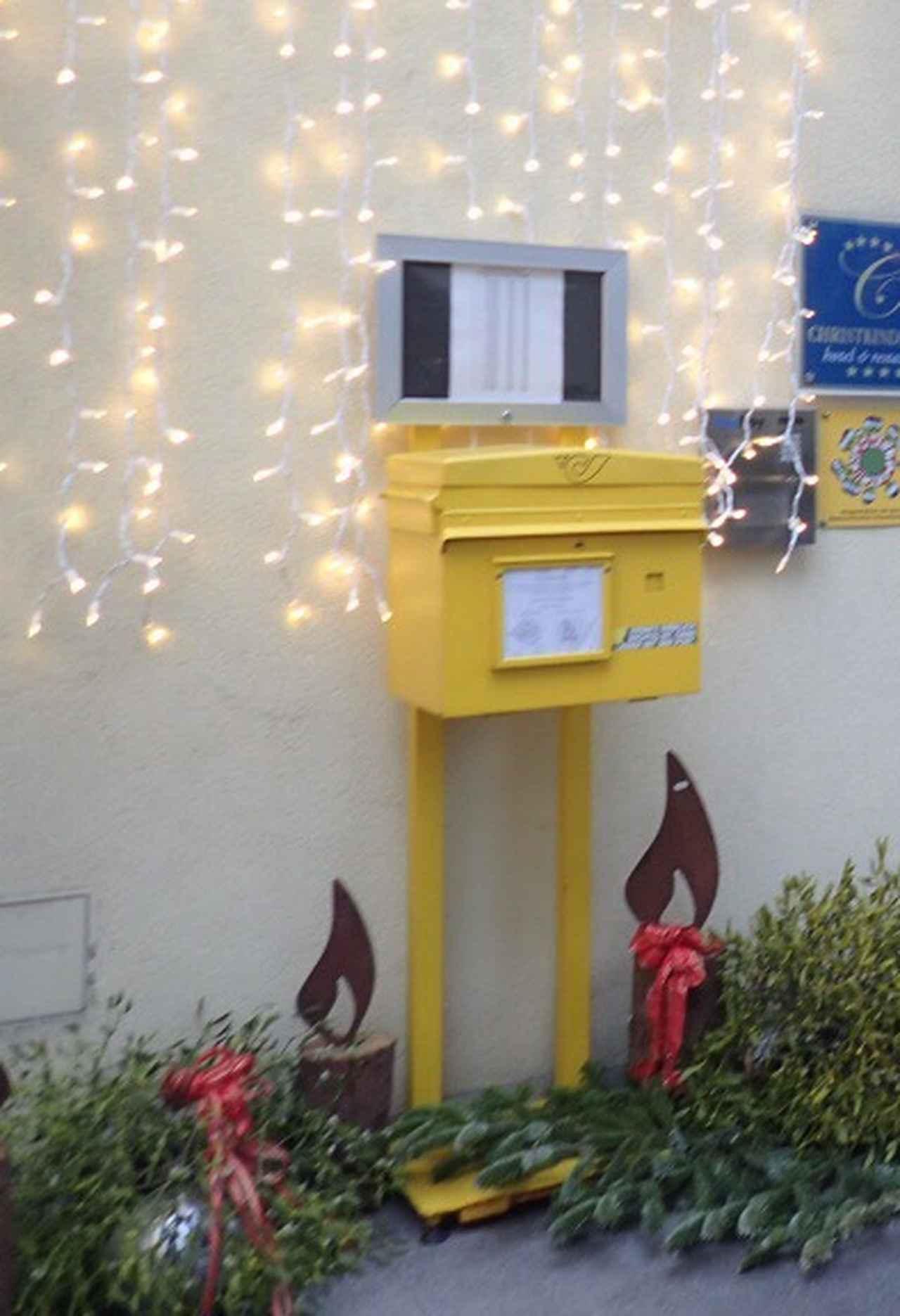 画像: 黄色の郵便ポスト(弊社スタッフ撮影)