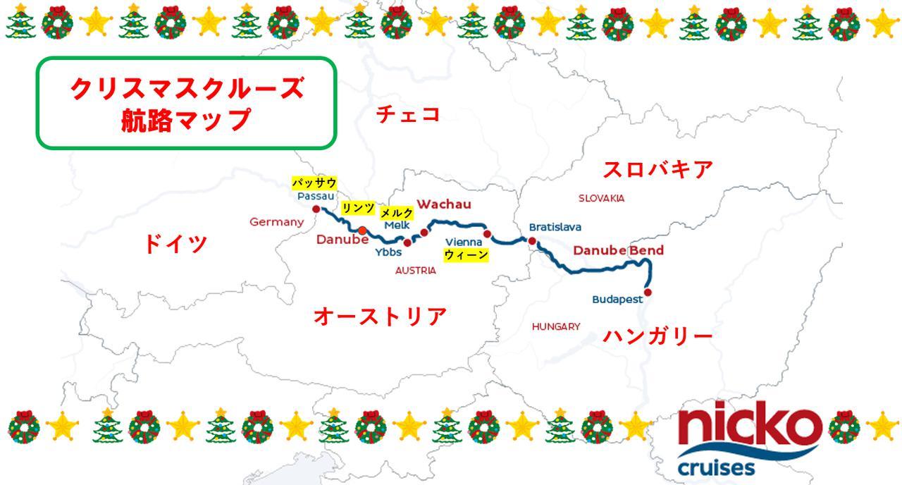 画像: 地図提供(©nicko cruises)