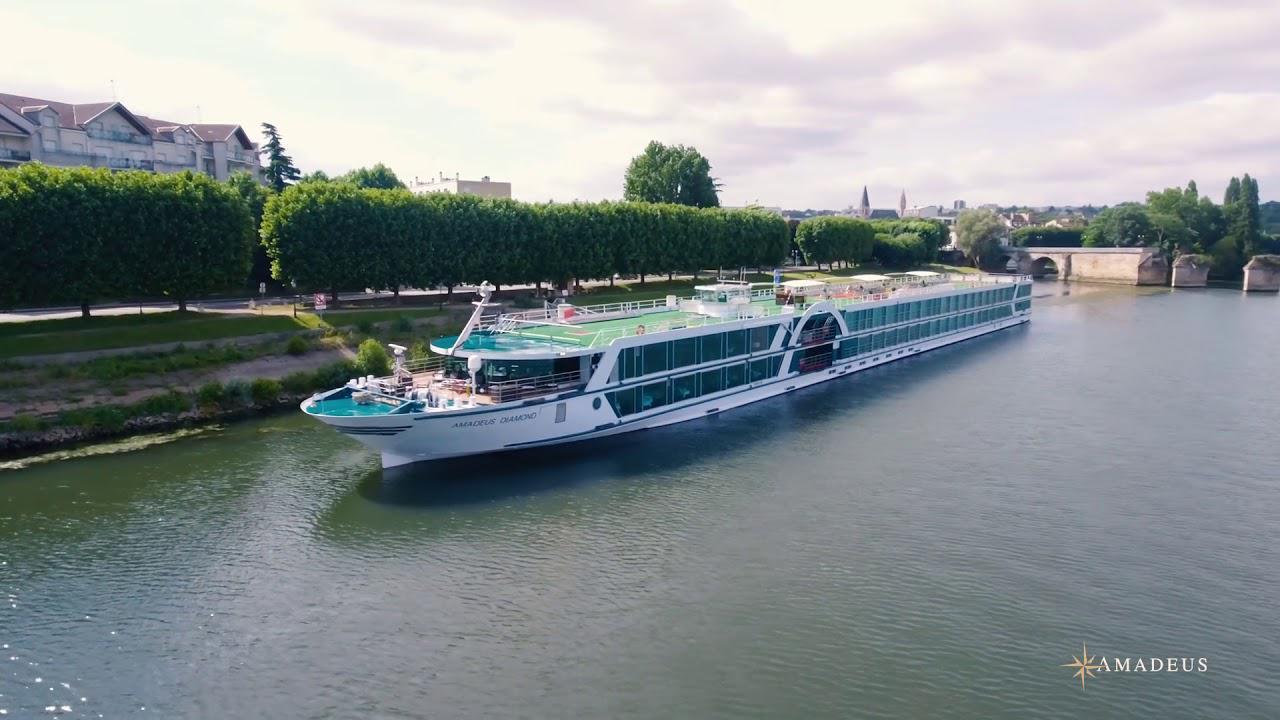 画像: Cruise with AMADEUS – Paris, Normandy and the River Seine 動画提供 ©Lüftner