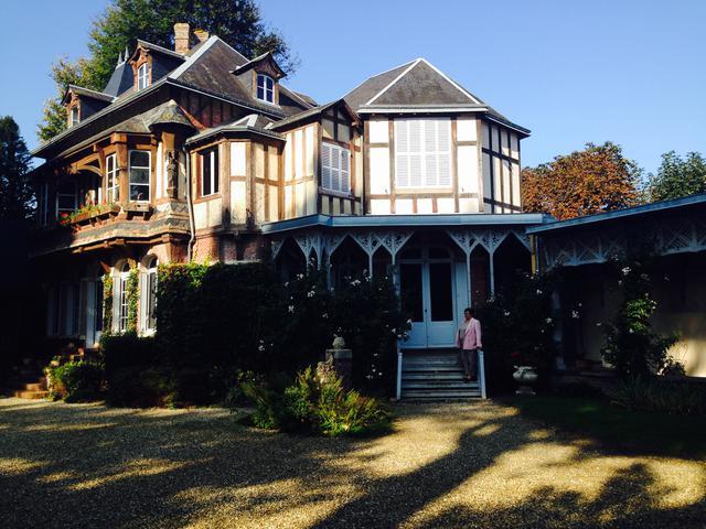 画像: アルセーヌ・ルパンの家(弊社スタッフ撮影)