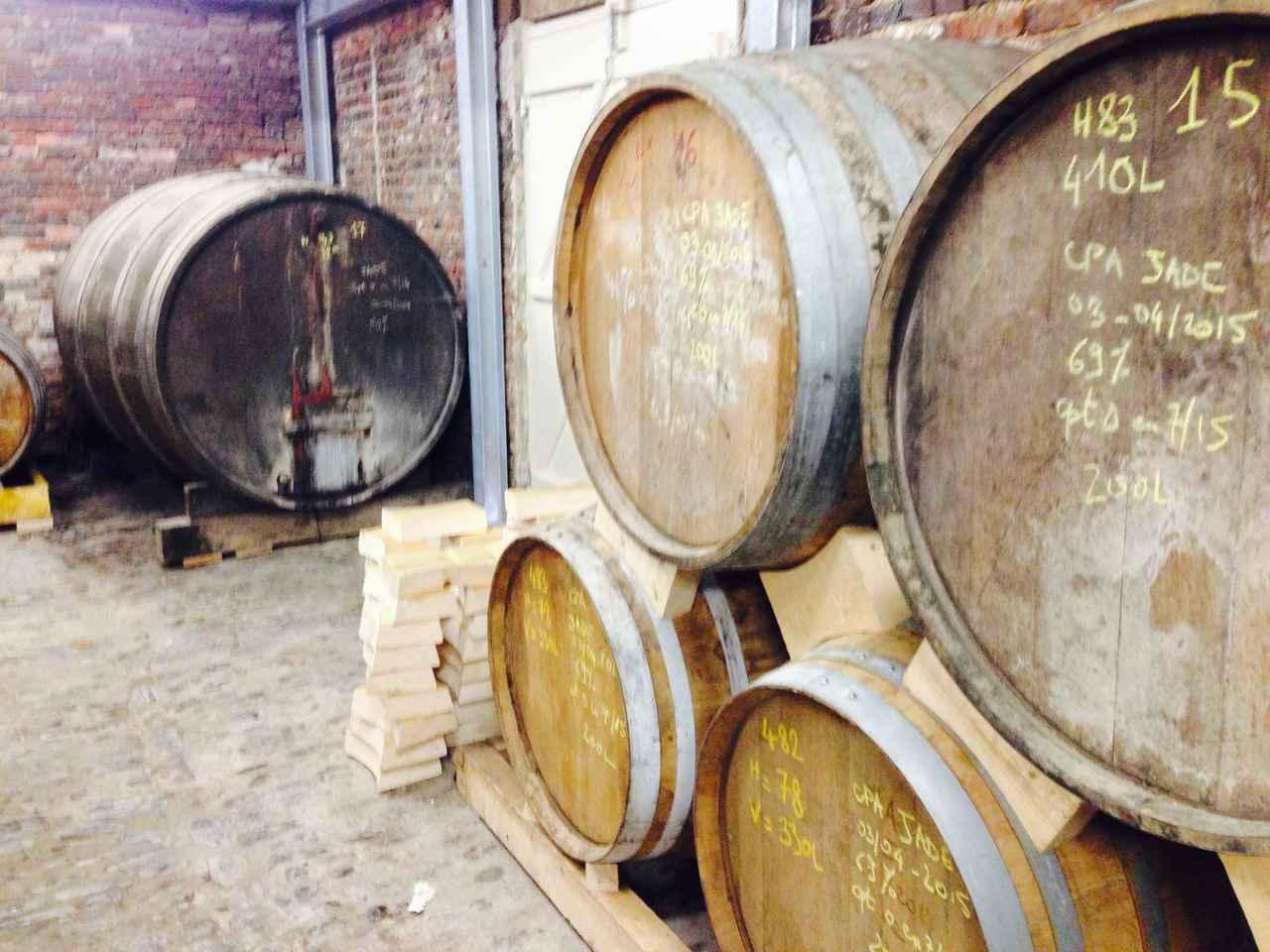 画像: シードル、カルヴァドスの醸造所を訪問(弊社スタッフ撮影)