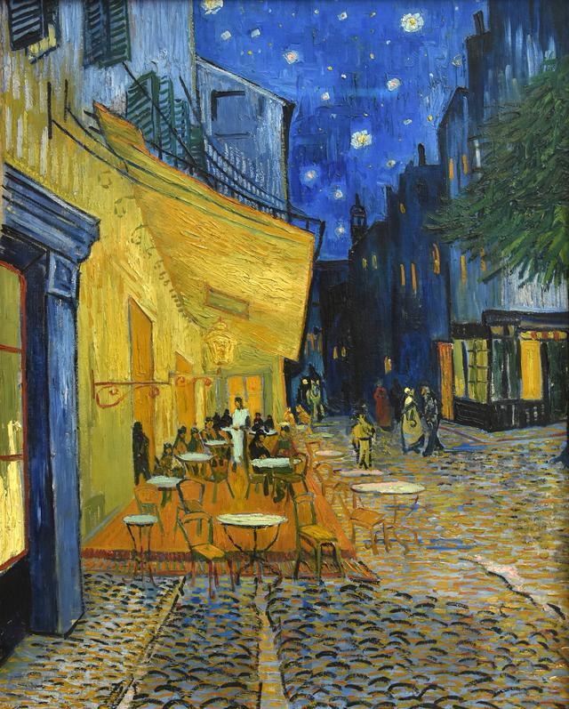 画像: 『夜のカフェテラス』