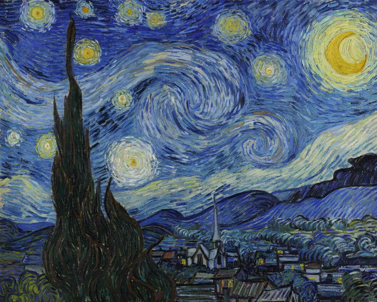 画像: 『星月夜』
