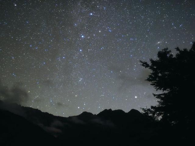 画像: 上高地の星空(イメージ)※天候により星が見れない場合もございます。