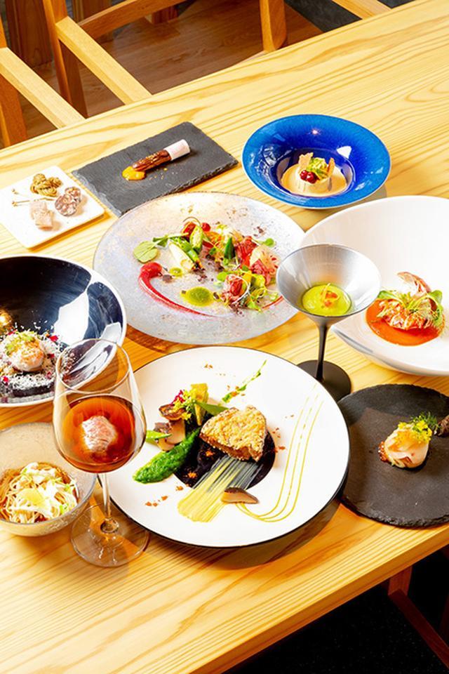 画像: 大和野菜をふんだんに使った料理