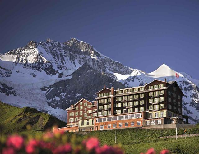 画像: スイス・クライネシャイデックのホテル・ベルビュー・デザルプ