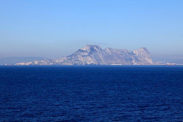 画像: ジブラルタル海峡(イメージ)※天候により、ヨーロッパ大陸はご覧いただけない場合がございます。