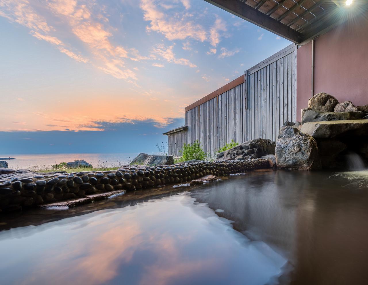 画像: グランメール山海荘:日本海を望む露天風呂(イメージ)