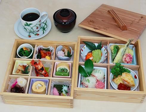 画像: 「レストランからり」の旬の内子産食材を活かした和洋折衷料理(イメージ)