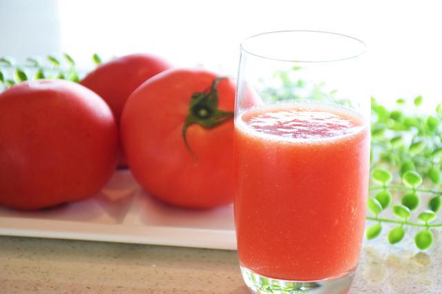 画像: 自慢のフレッシュトマトジュース(イメージ)