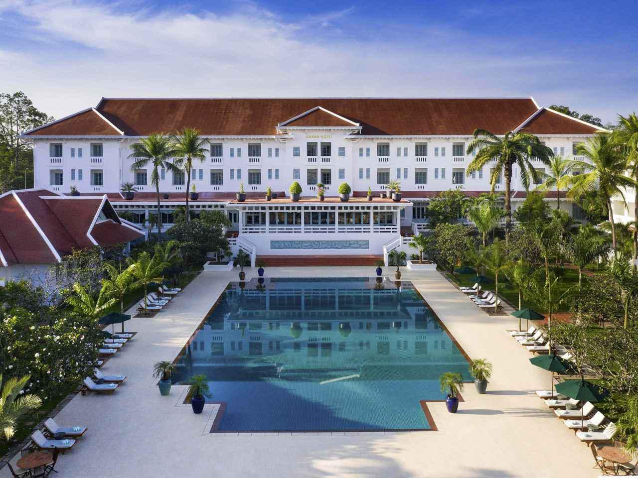 画像: 旅の拠点となるホテル、『ラッフルズ・グランド・ホテル・アンコール』(イメージ)