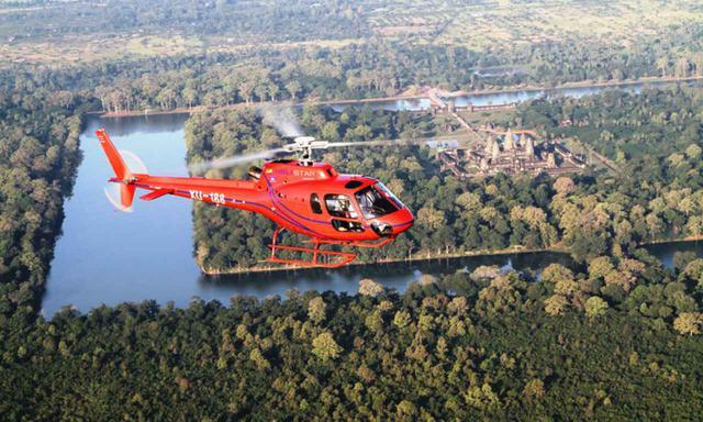 画像: ヘリコプター遊覧(イメージ)