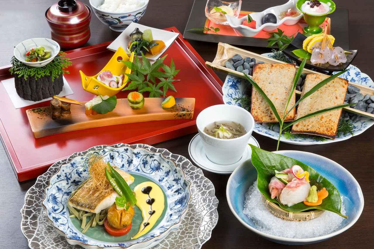 画像2: 季節の会席料理 一例(イメージ)