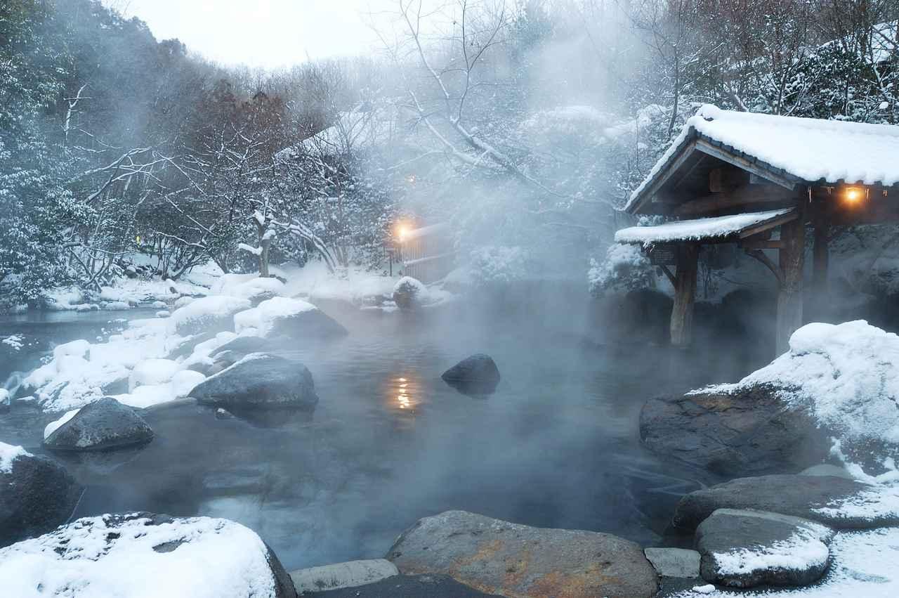 画像: 山みず木 野天風呂<冬>(イメージ)