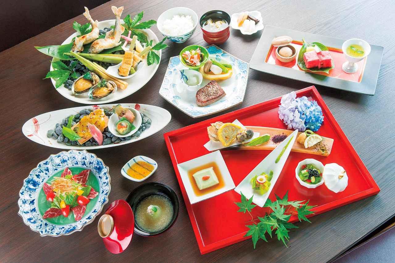 画像1: 季節の会席料理 一例(イメージ)