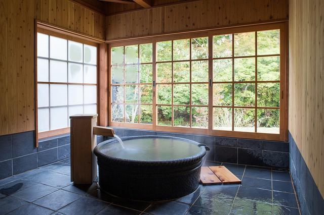 画像: 客室の温泉風呂(イメージ)