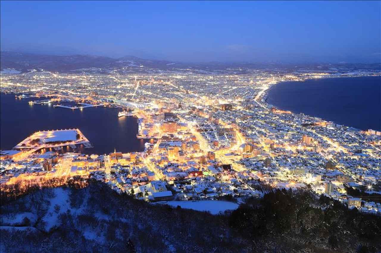 画像: 煌めく函館山からの夜景(お客様の作品です:東京都在住 内田雄一様)