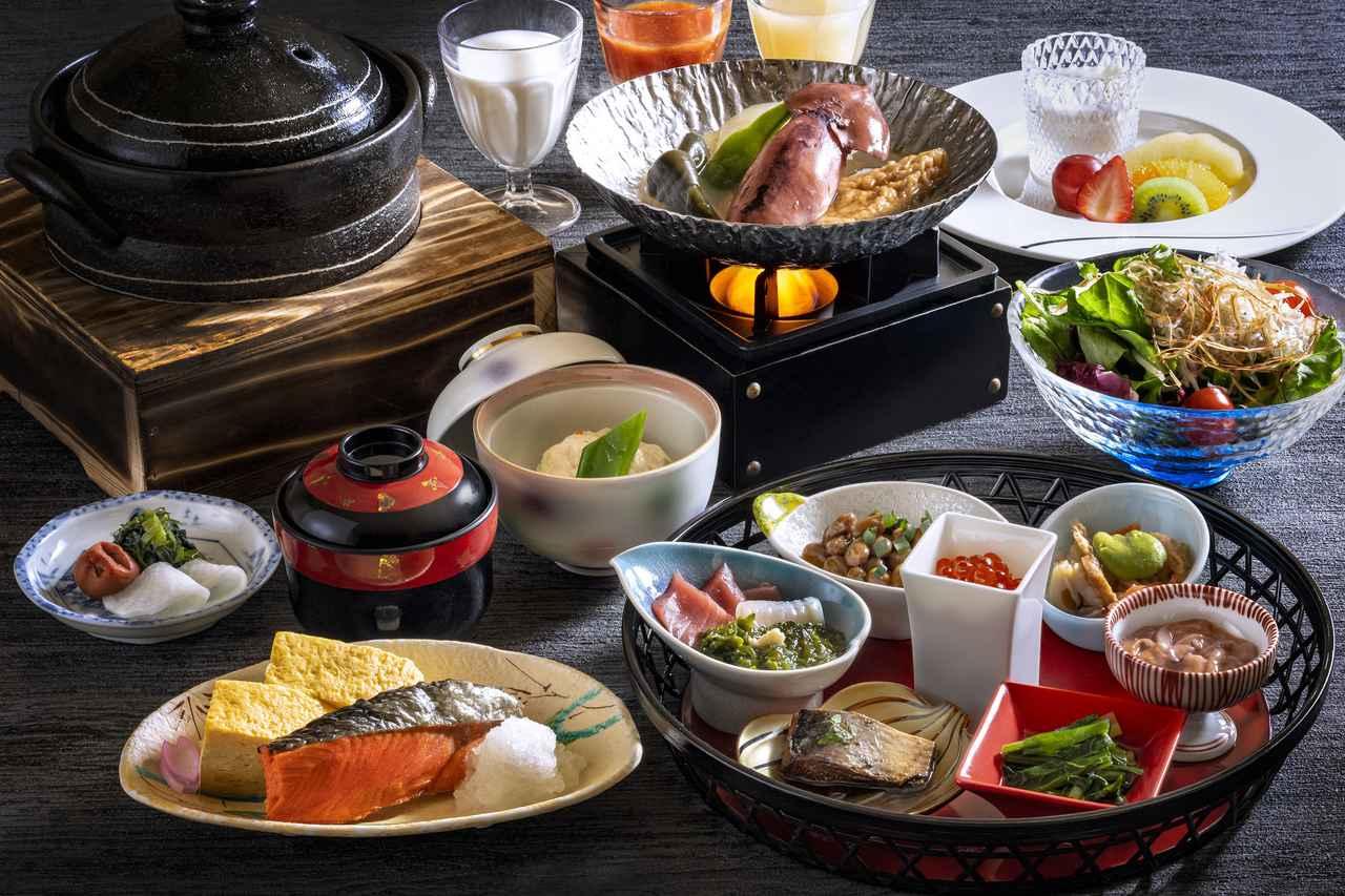 画像: 和朝食(一例/イメージ)