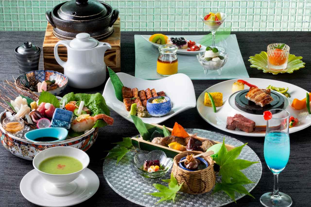 画像: 彩り豊かなご夕食(一例/イメージ)