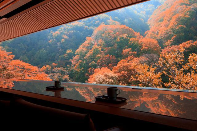 画像: ロビーラウンジからの眺め 秋(イメージ)