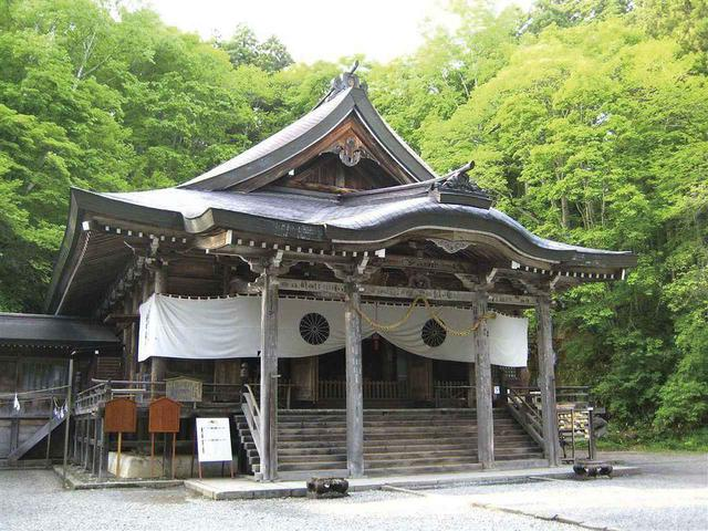 画像: 戸隠神社 中社(イメージ)